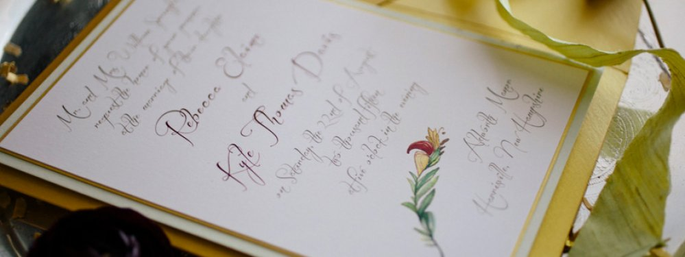 Calligraphy & Watercolor Elegance