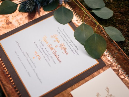 Copper Penny Styled Shoot